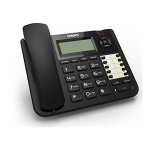 Uniden At8501 Black Corded 2-Line Phone