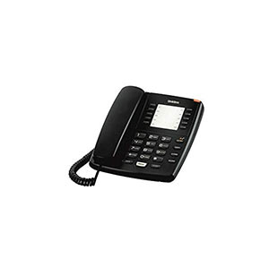 Uniden As7201 Black Corded Landline Phone