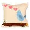 Bubbly Blue Cushion